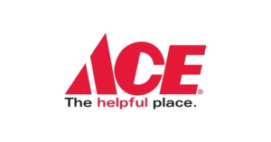 Ace hardware logo. Ace Hardware is a supplier of Uncle Keiths Red Sauce